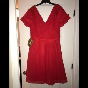 Light in the box Ruby Red Cocktail dress